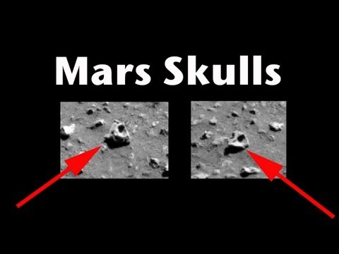 Alien Skulls in Mars Photo