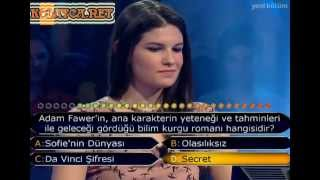 Kim milyoner olmak ister 207. bölüm 19.04.2013  başak turan