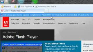 Tutorial: Atualizando O Flash Player