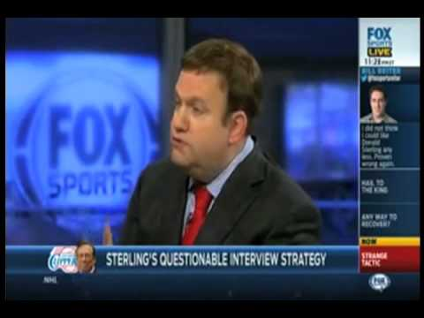 Fox Sports 1 - May 12, 2014 - Frank Luntz Analyzes Donald Sterling's Apology