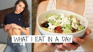 What I eat in a day | Veggie | Jessica Clements