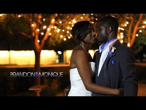 Brandon and Monique's Wedding Highlights