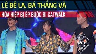 Lê Bê La, Bá Thắng, Hòa Hiệp bị ép buộc đi catwalk | Bản lĩnh nhóc tỳ T15 FULL (Mùa 2)