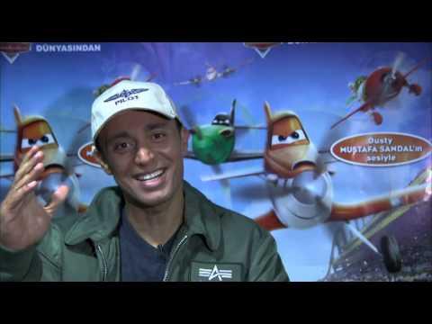 Mustafa Sandal Uçaklar Kamera Arkası - Uçaklar 23 Ağustos#39; ta
