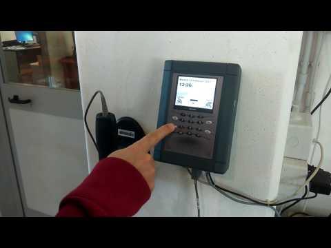 TBS5000RF-PRO installazione sistema gestione commesse TBS5000RF-PRO e software GestproM
