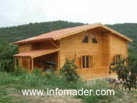 Casas de madera infomader youtube - Youtube casas de madera ...