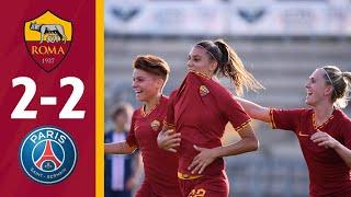 Roma v Paris SG 2-2 MATCH HIGHLIGHTS | WOMEN'S 2019-20 PRE-SEASON
