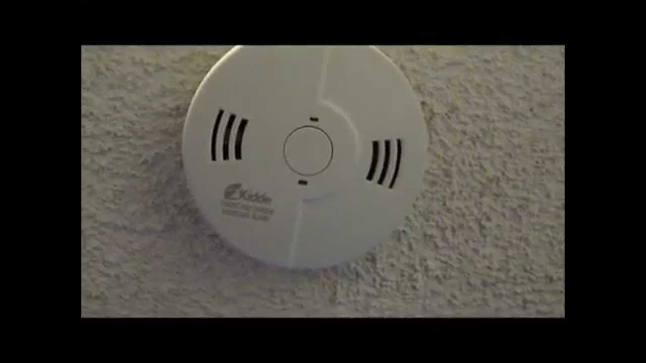 kidde carbon monoxide detector instructions