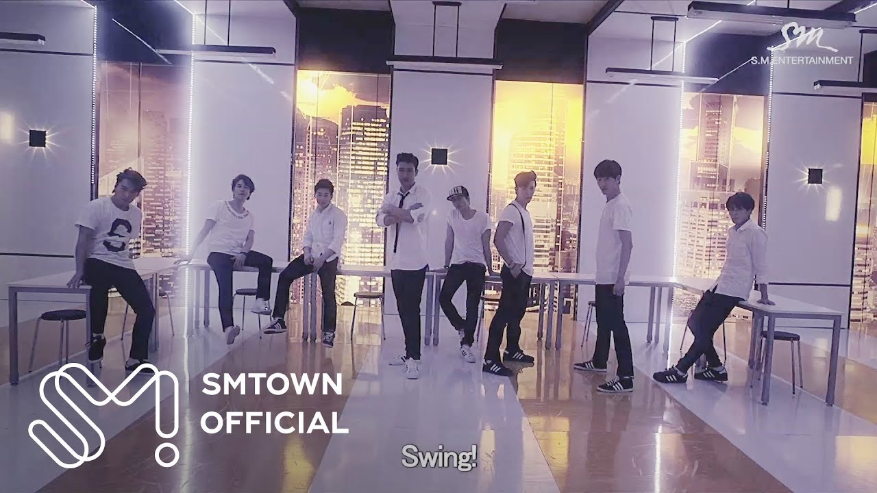 Super Junior-M_SWING_Music Video (CHN ver.)