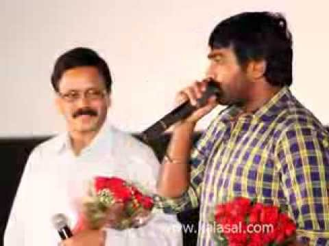 Actor Vijay Sethupathi Speech at Cuckoo Movie Audio & Trailer Launch