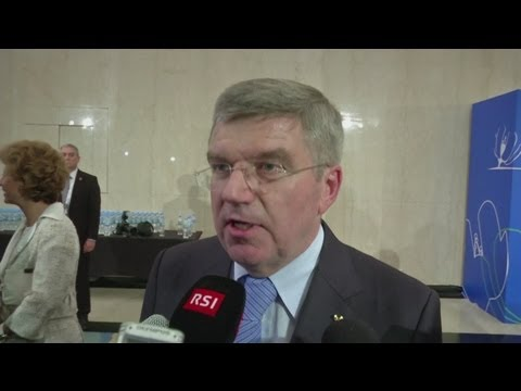 Bach elected as new IOC President [AMBIENT]