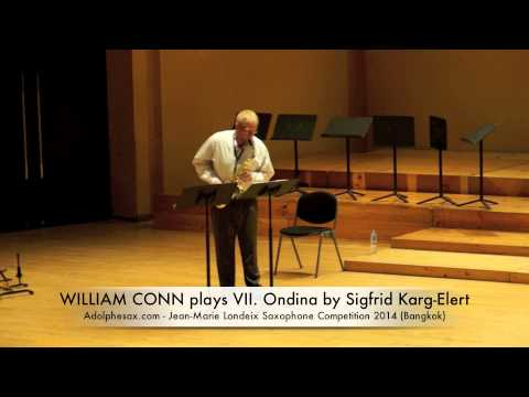 WILLIAM CONN plays VII Ondina by Sigfrid Karg Elert