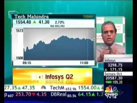 """Infosys once again emerging as a stable reliable stock"" Dilip Bhat in an interview with CNBC-TV18"