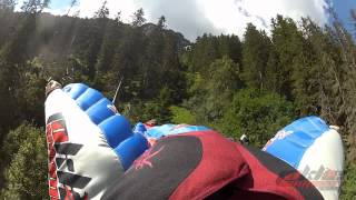 The Rockstar line: Wingsuit proximity by Ludovic Woerth and Jokke Sommer