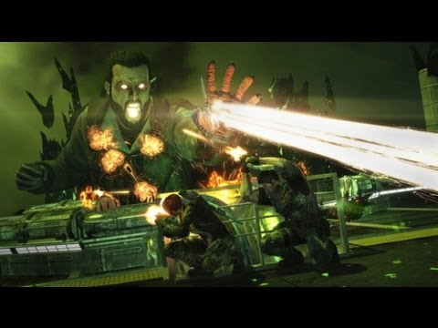 FUSE Co-Op Gameplay - Twin Boss Battle!! (FUSE Xbox 360/PS3 HD)