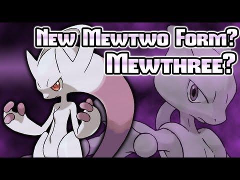 Pokémon X & Y: Mewtwo's New Form? Mewthree? Newtwo? Majin Mewbuu?
