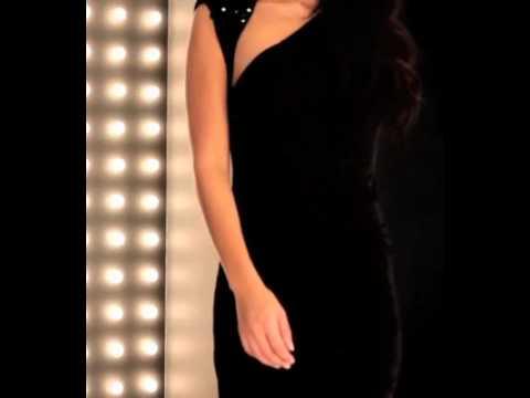 Forever Unique Dress Lillian In Black.