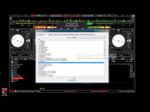Virtual DJ 2014 SKINS PREVIEW