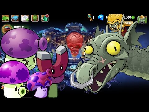 Hoa Quả Nổi Giận 2: Tấn Công Rồng Lửa Zombot Dark Dragon. Android games