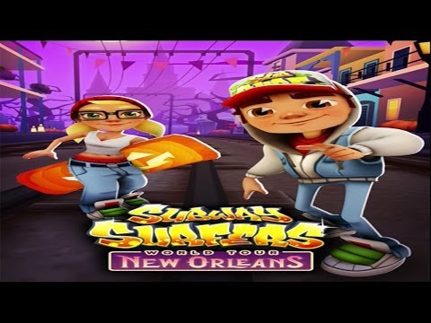Subway Surfers World Tour: New Orleans (Halloween) Gameplay [HD]
