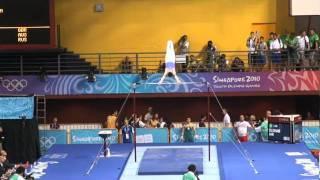 Sam Oldham (GBR) - Singapore Youth Olympic Games MAG HB EF AndromedaAiken ...