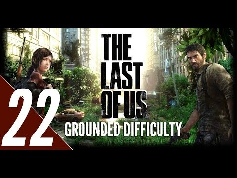 The Last of Us - Grounded Difficulty Walkthrough Part 22 - Snow Storm & David Fight