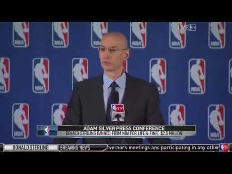 Brandon Robinson Talks to NBA Commissioner Adam Silver About Donald Sterling and LA Clippers
