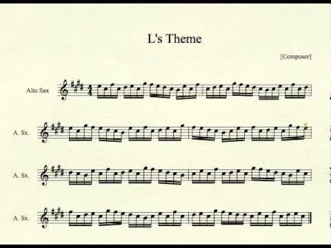 Theme for Alto Sax - YouTube