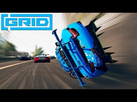 GRID 2019 - Fails #1 (GRID Crash Compilaton)
