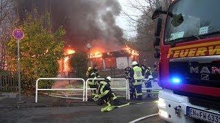 NRWspot.de | Wetter/Ruhr – Feuer in Kindertagesstätte – Gebäude steht in Vollbrand