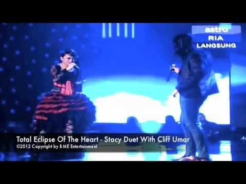 Stacy & Cliff Umar Duet Total Eclipse Of The Heart at Astro Mania Minggu 7