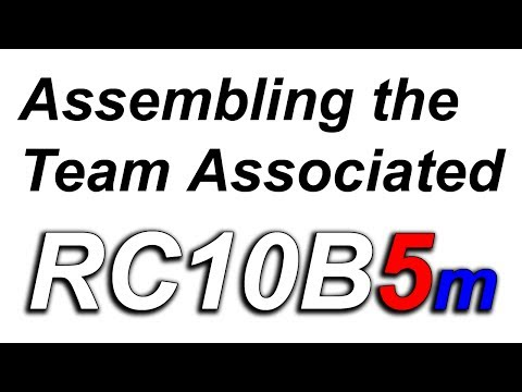 Building the RC10 B5m - Pt 3 - Rear Swing Arms, Rear Camber Block & Rear Shock Tower
