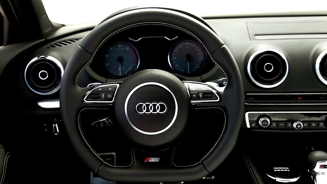 2015 audi s3 sedan interior youtube. Black Bedroom Furniture Sets. Home Design Ideas