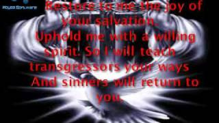 Create In Me A Clean Heart (with Lyrics Mp4)