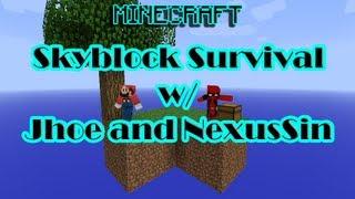 Minecraft Skyblock Survival Eps 5 - Let The Farming Begin