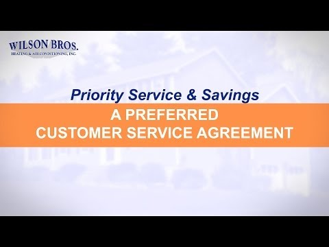 A Preferred Customer Service Agreement