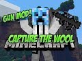 Minecraft CAPTURE THE WOOL! w/ The Gun Mod!