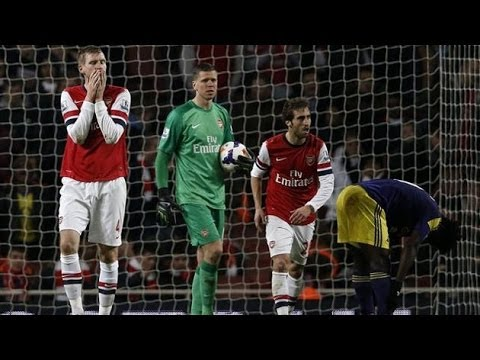 Arsenal 2 Swansea 2 - Match Review