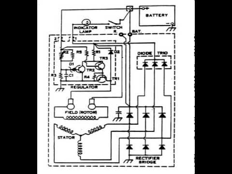 bosch voltage regulator wiring diagram