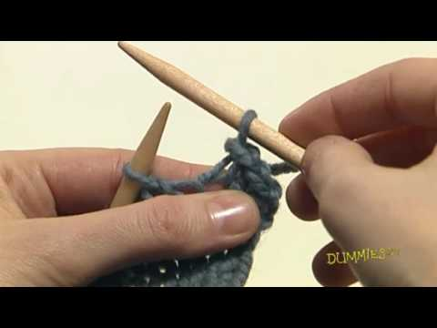 How To Bind Off Stitches When Knitting : How to Bind Off Your Knitting For Dummies - YouTube