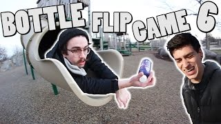 ULTIMATE GAME OF BOTTLE FLIP! | ROUND 6