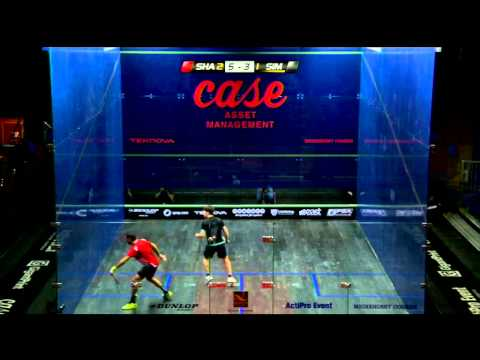Squash: February Shot of the Month - Shabana