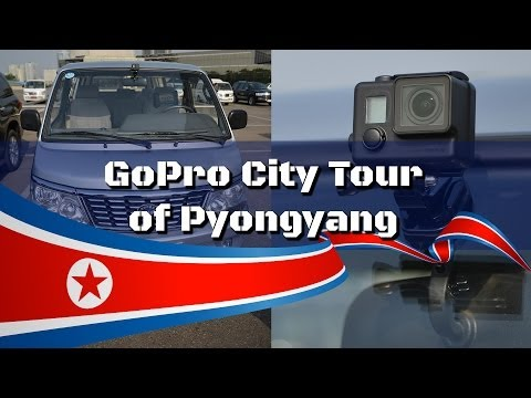 GoPro City Tour Of Pyongyang, North Korea