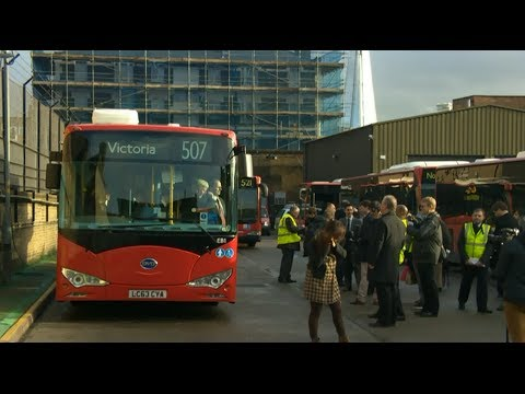 New Electric Bus Fleet for London: BBC London News Report