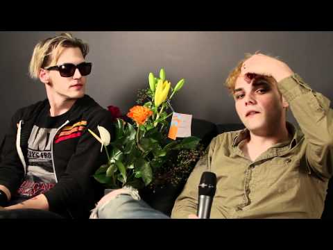 My Chemical Romance Talk Glee And The Big Day Out