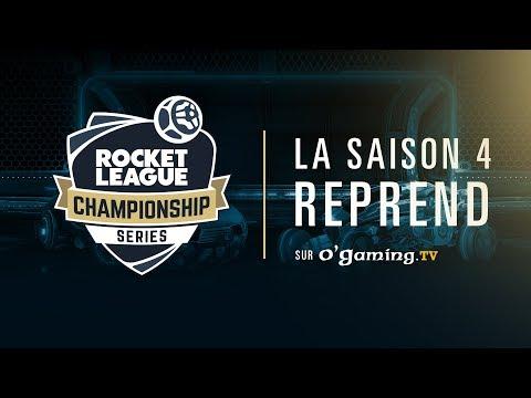 Les RLCS Saison 4 commencent sur O'Gaming TV ! ⚽🏎️💨