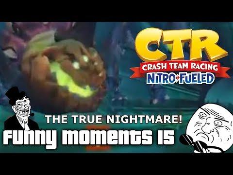 Crash Team Racing Nitro Fueled: Funny Moments #15 (Glitches, Fails, Wins)