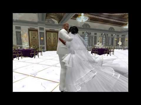 Second Life Wedding Video Scrapbook Of Elijah and DarkEbony Eternal