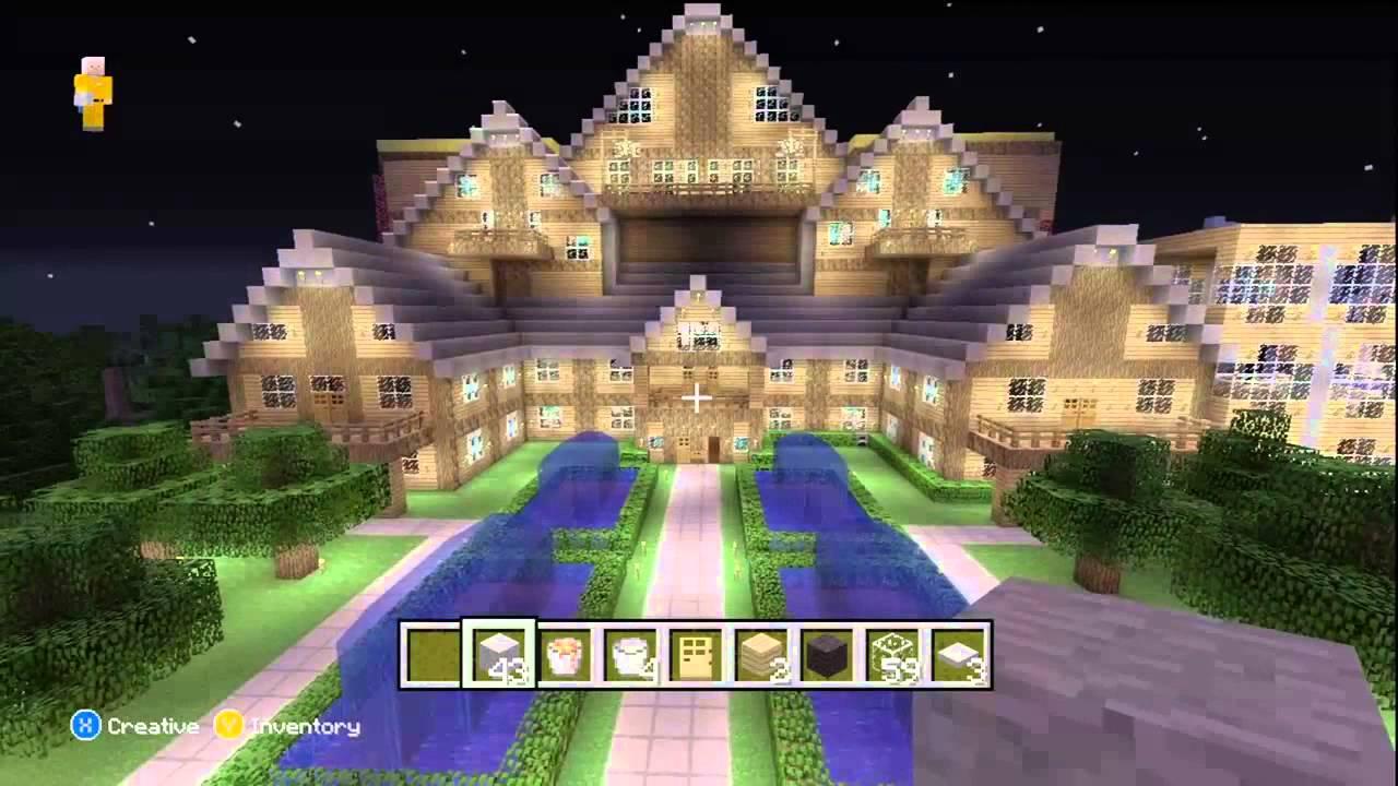 Minecraft Xbox 360 : Awesome World Showcase - YouTube