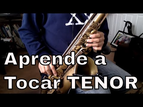 Digitacion y Registro Saxofon Tenor